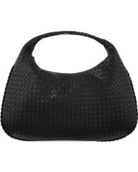 Bottega Veneta Intrecciato Leather Medium Hobo Bag - Lyst