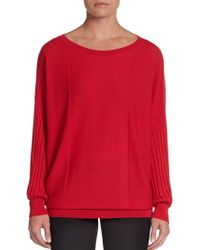 Lafayette 148 New York Extrafine Wool Ribbed Sweater - Lyst