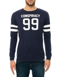 Wesc The Rugby Ls T-shirt - Lyst
