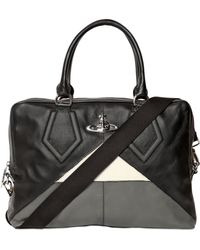Vivienne Westwood Orbit Leather Computer Bag - Lyst