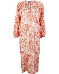 Antik Batik Dane1Djellaba red - Lyst