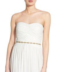 Nestina Accessories - 'simply Bridal' Crystal Sash - Lyst