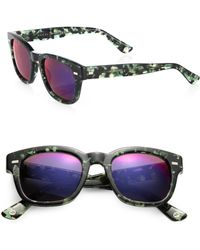 Gucci 50Mm 1079/S Acetate Wayfarer Sunglasses multicolor - Lyst