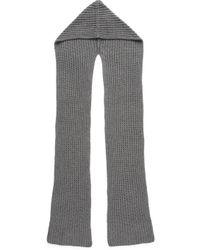 Madewell - Hooded Scarf - Grey - Lyst