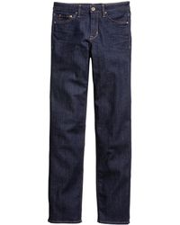 H&M Straight Regular Jeans - Lyst