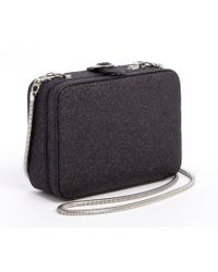 French connection Black Twinkle Twinkle Slinky Convertible Shoulder Bag - Lyst