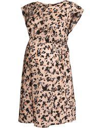 H&M Mama Patterned Dress - Lyst