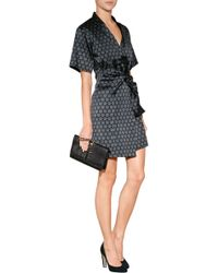 Zagliani - Python Bobon Clutch with Swarovski Embellishment in Black - Lyst