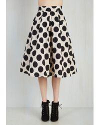 Jolie Moi - Beauteous Brunch Skirt - Lyst
