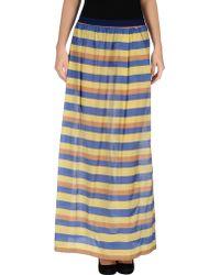 Alysi Long Skirt - Lyst