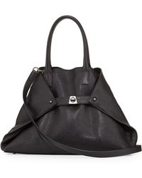 Akris Ai Small Tophandle Tote Bag - Lyst