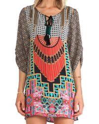 Tolani Multicolor Mini Dress - Lyst