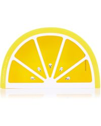 Charlotte Olympia Citrus Clutch - Lyst