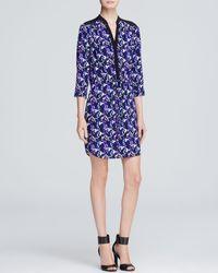 Diane von Furstenberg Dress - Freya Leopard Print - Lyst