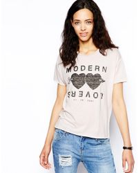 Zoe Karssen Modern Lovers Box Fit T-Shirt - Lyst
