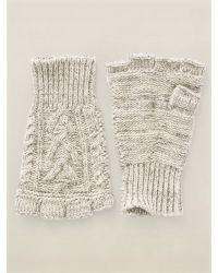RRL Guernsey Fingerless Gloves - Lyst