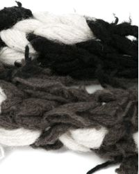 Label Under Construction - Recycled Knit Handmade Scarf - Lyst