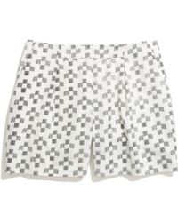 Madewell Deck Shorts in Crosshatch Ikat - Lyst