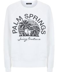 Juicy Couture Palm Springs Fleece Sweater - Lyst
