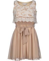 Rare London Short Dress - Lyst