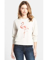 Ace Delivery Flamingo French Terry Sweatshirt - Lyst