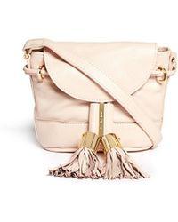 See By Chloé 'Vicki' Mini Leather Crossbody Bag - Lyst
