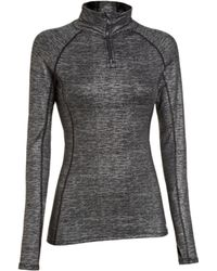 Under Armour - Ladies Coldgear Cozy 12 Shimmer Zipup - Lyst