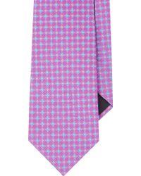 Valentino Geometric Floral Neck Tie - Lyst