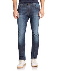 Nudie Jeans Finn Slim-Fit Jeans blue - Lyst