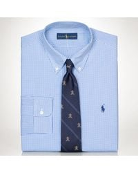 Polo Ralph Lauren Slimfit Gingham Dress Shirt - Lyst
