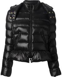 RED Valentino Black Padded Jacket - Lyst