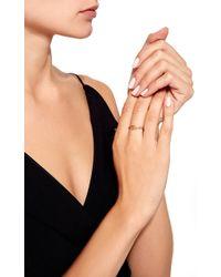 Lauren Klassen - Needle Ring With Diamonds - Lyst