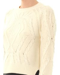 Emma Cook - Spider Cable Knit Sweater - Lyst