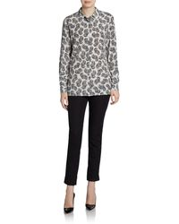 Stella McCartney Silk Paisleyprint Blouse - Lyst