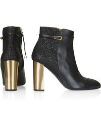 Topshop Picture Premium Boots - Lyst