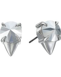 Vince Camuto Pointed Resin Studs Earrings - Lyst