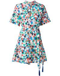 Saloni 'Ashley' Dress - Lyst