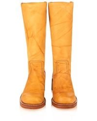 Frye - Campus 14L Leather Boots - Lyst
