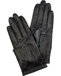 Karen Millen - Fringe Glove - Lyst