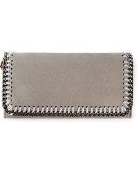 Stella McCartney Foldover Wallet - Lyst