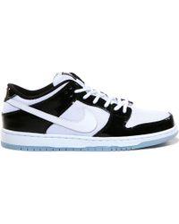 "Nike Sb Dunk Low Pro Qs ""Concord"" black - Lyst"