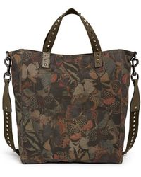 Valentino Camubutterfly' Canvas Tote - Lyst