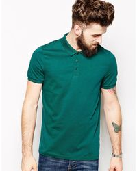 Asos Polo in Jersey - Lyst