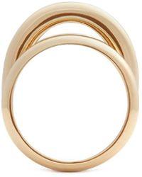 St. John - Concentric Tubular Ring - Lyst