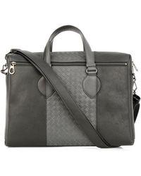 Bottega Veneta Intrecciato Leather Briefcase - Lyst