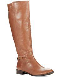 Anne Klein Kacey Riding Boots - Lyst