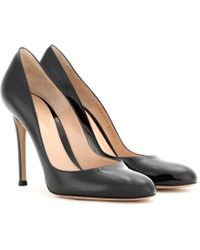 Gianvito Rossi Venus Patentleather Pumps - Lyst