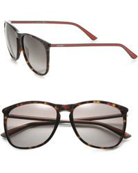 Gucci | 57mm Square Sunglasses | Lyst