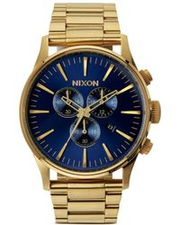 Nixon 'The Sentry Chrono' Watch - Lyst