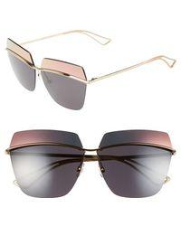 Dior 63Mm Retro Metal Sunglasses pink - Lyst